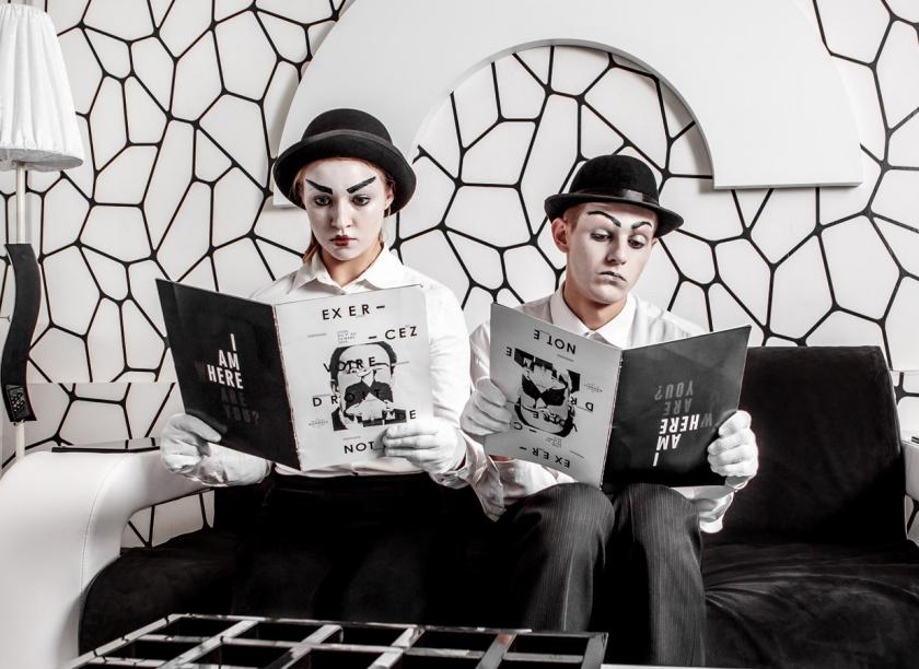 Фото квест комнаты Черно-белая история (магия) в городе Киев