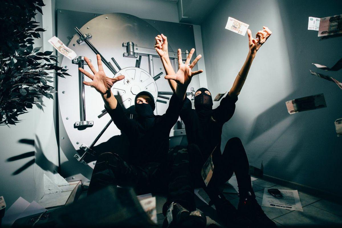 Фото квест комнаты Ва-Банк: украсть миллион в городе Киев